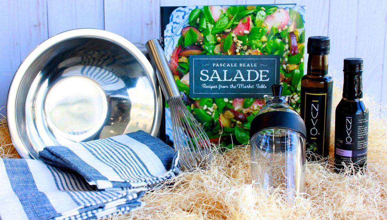 Gourmandise Le Salade Chef Gift Basket