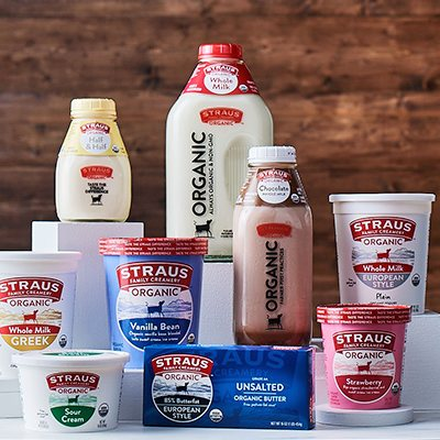 Straus Family Creamery Products
