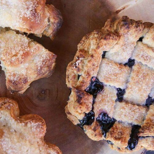 Gourmandise Blueberry Pie