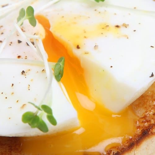 poached egg gourmandise recipe