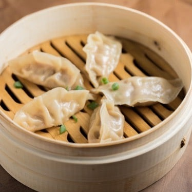 CHINESE DUMPLINGS CHICKEN AND CHIVE POSTICKERS